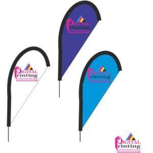 Digital Printing Teardrop Banners