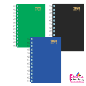 Digital Printing wire bound diary