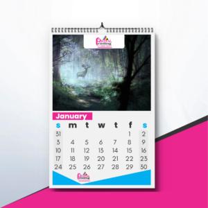 12 Page Wall Calendar Printing Johannesburg